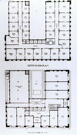 Wainwright Building Floor Plan