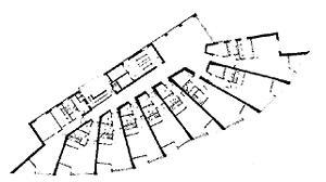 hochhaus in der satellitenstadt neue vahr bremen. Black Bedroom Furniture Sets. Home Design Ideas