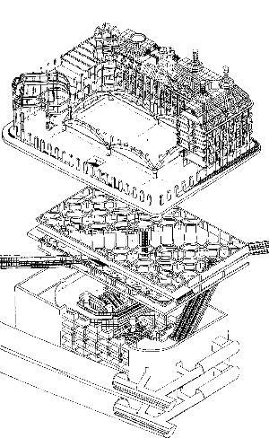 Npb neues parlamentsgeb ude london for Architektur axonometrie