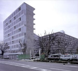 Photo Illustration Description Kitagata Housing Project By Sanaa