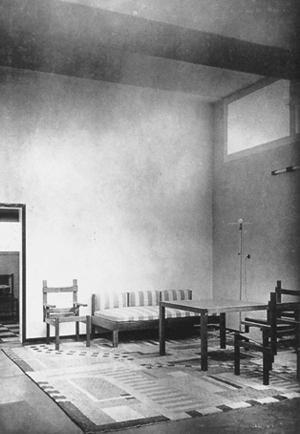 Versuchshaus weimar am horn for Innenarchitektur 1920