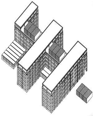Deutsches architekturzentrum daz berlin for Architektur axonometrie