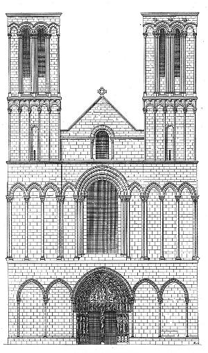 Notre Dame And Saint Maurice Cathedral Angers
