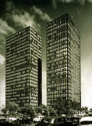 Lake Shore Drive Appartement Buildings 860 Und 880