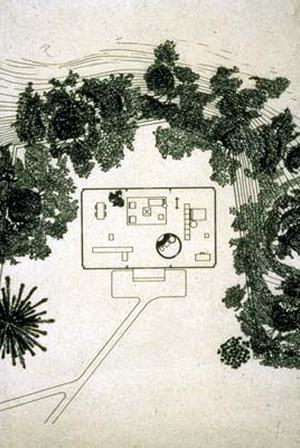 Philip Johnson Glass House Floor Plan House Design Plans