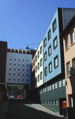 Drei Farben Haus Stuttgart