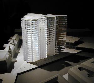 Projekt Für Ein Glashochhaus Berlin
