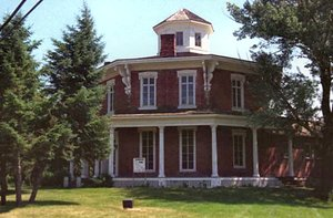 Washington Octagon House on